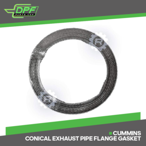 Cummins Conical Exhaust Pipe Flange Gasket (RED G02004 / OEM 2880215)